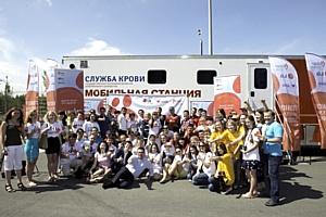 27 мая в Казани прошел День донора  с участием прославленного спортсмена города