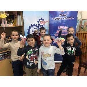 Ученики ЦДТ «Умелец» создали «Самолеты будущего»