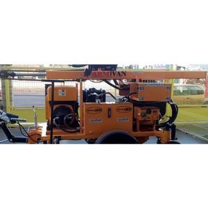 Гидравлические машины для забивания свай барьерного ограждения в РФ