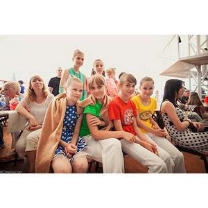 Состоялся детский музыкальный фестиваль «Аквамарин»