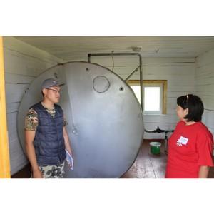 ОНФ в Туве проверил работу детских оздоровительных лагерей
