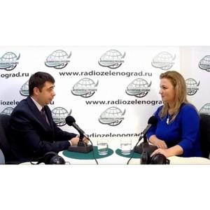 В гостях у радио начальник отдела по вопросам миграции УВД Зеленограда Борис Баршев