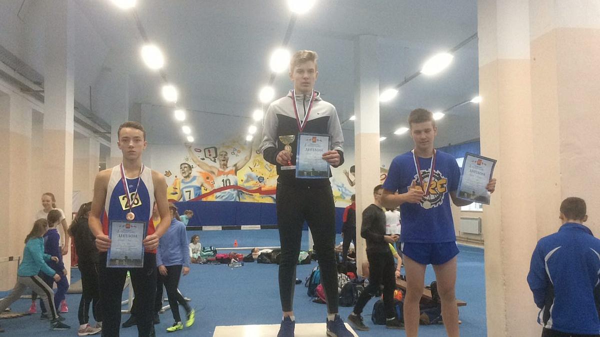 Спортсмен из Дзержинска  взял серебро на легкоатлетических соревнованиях памяти Селиверстова А.Д.