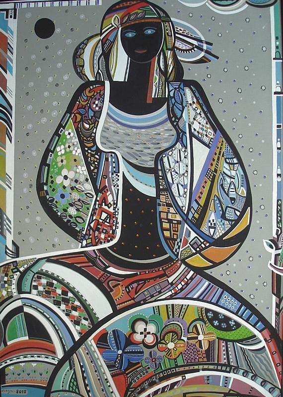 """""""Красота и есть истина"""". Живопись и графика грузинских художников Заура Цхадая и Дарико Беридзе"""