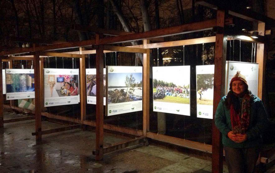 Торжественное открытие фотовыставки «Экологические хроники» на Страстном бульваре 7 декабря в 14:00