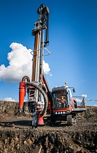 Pantera от компании Sandvik Mining – буровая установка с характером