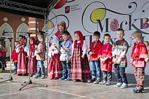 Фестиваль детских фольклорных коллективов «Радуйся!» прошел в музее-заповеднике «Царицыно»
