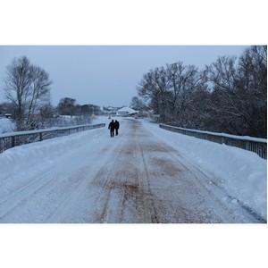 После обращения ОНФ власти отремонтируют мост в селе Приволье