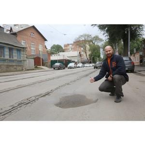 Спустя год после проверки инспекцией ОНФ состояние дорог Волгограда кардинально не улучшилось