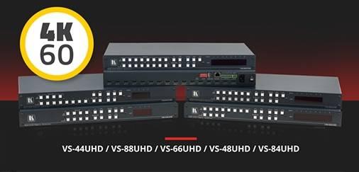 В продаже матричные коммутаторы HDMI 4K@60Hz (4:2:0) cерии VS-XXUHD Kramer