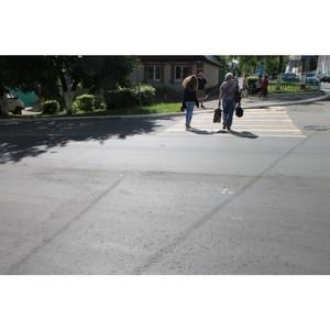 В Саранске после проверки ОНФ отремонтировали дорогу