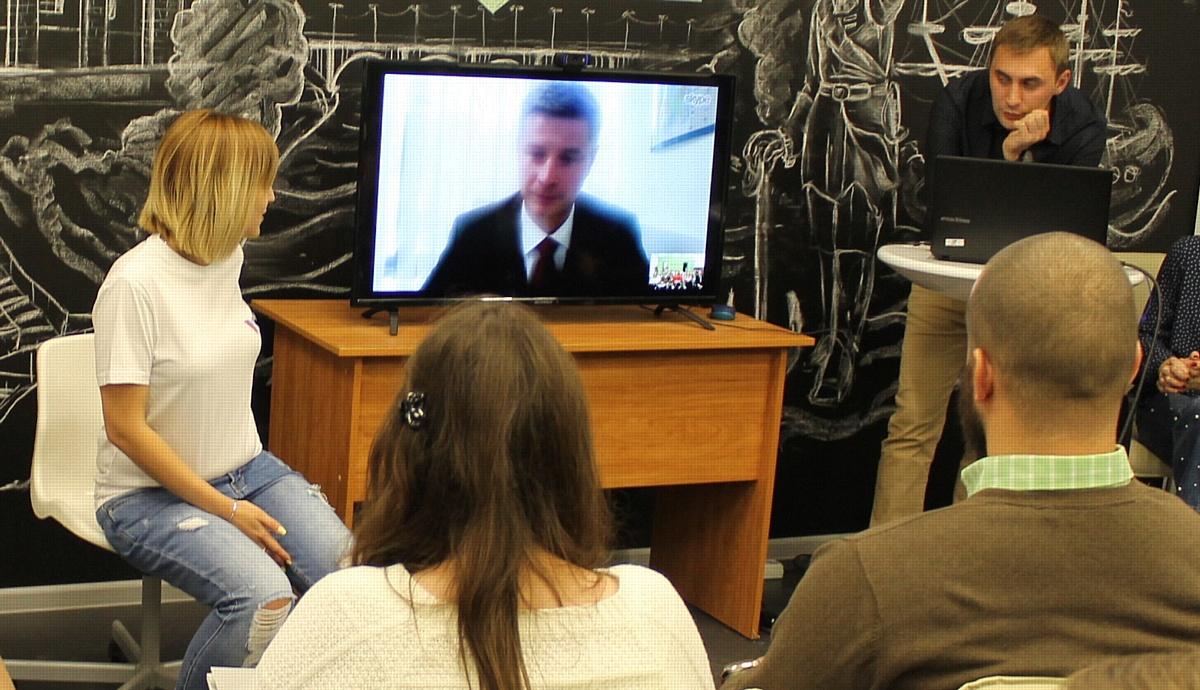 В Воронежской области региональным отделением Народного фронта была презентована «Молодежка ОНФ»