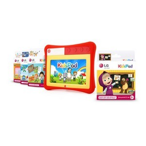 LG расширяет линейку дополнительных картриджей для детского обучающего планшета LG KidsPad