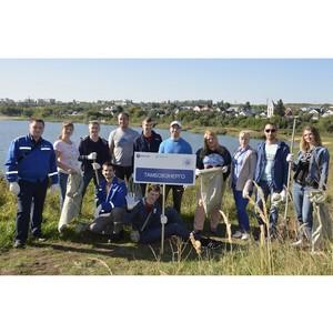 Работники тамбовского филиала МРСК Центра приняли участие во Всероссийском экологическом субботнике