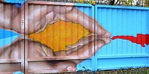 «Мы – AGC!» промышленный стрит-арт на Борском стекольном заводе
