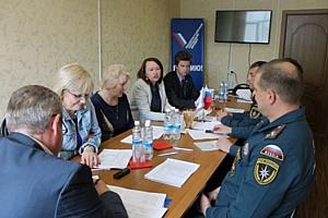 Активисты Народного фронта и представители МЧС на Камчатке наметили план совместной работы