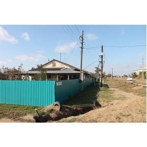 Волгоградские активисты ОНФ взяли на контроль вопрос завершения работ по газификации хутора Клетский