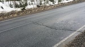 ОНФ выявил множество дефектов на отремонтированных меньше года назад дорогах Кировской области