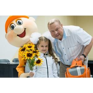 36 первоклассников получили в подарок школьные рюкзаки от предприятия «Ульяновскцемент»