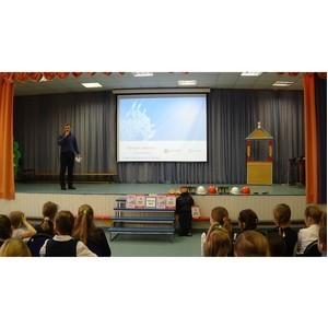 Сотрудники Тамбовэнерго провели занятие по электробезопасности в Новолядинской школе