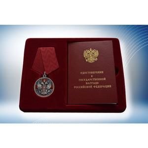 Сотрудник «Швабе» награжден медалью ордена «За заслуги перед Отечеством»