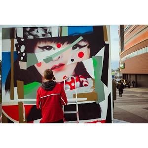Фестиваль уличного искусства «30 граней тебя» проходит в Нижнем Новгороде перед ТРК «Небо»