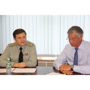 Заместитель министра обороны России О.Н. Остапенко провел совещание в ОАО КМЗ