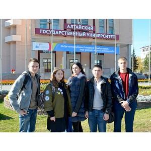 Алтайский государственный университет стал площадкой для проведения Фестиваля науки