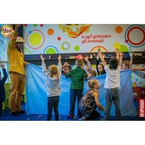 Необыкновенные развлечения и мастер-классы в детском клубе «Ура» в ТРЦ «Аура»