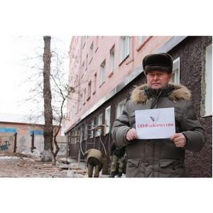 Активисты ОНФ в Хакасии добиваются установки подъемника для инвалида-колясочника в Черногорске