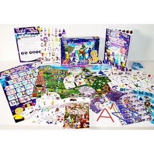 Изучаем алфавит вместе с Мысляшами в новом формате детского издания с элементами настольной игры