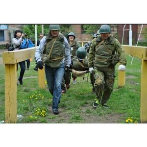 В Благовещенске при поддержке ОНФ прошла студенческая военно-патриотическая игра «Зарница»