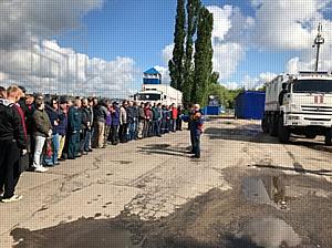 Колесный вездеход МПЗ пошел в школу: экзамен в Воронежской водолазной школе сдан на «отлично»