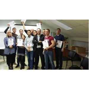 В Санкт-Петербурге состоялся тренинг по продажам для компании «Петромастер».