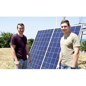 Студенческий полигон альтернативных источников энергии снабдит электричеством лагерь «Горизонт»