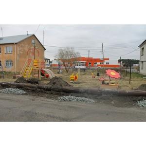 Активисты ОНФ в Курганской области проинспектировали ход работ по благоустройству в селе Глядянское