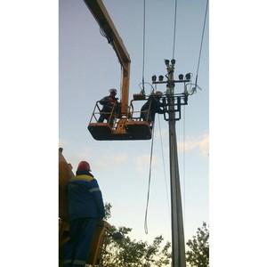 Ивэнерго: электроснабжение в районах Ивановской области восстановлено