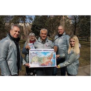 Волгоградские активисты ОНФ приняли участие в фестивале в честь воссоединения Крыма с Россией