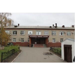 ОНФ просит ускорить строительство нового корпуса Острогожской больницы