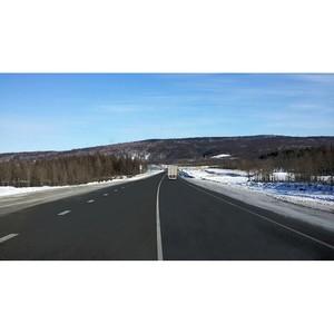 В Амурской области отремонтирован отмеченный на карте дорожного проекта ОНФ участок трассы «Лена»