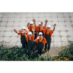 12 школьников приняли участие в работе Экоотрядов на «Ульяновскцементе»
