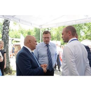 «Газпромнефть - Региональные продажи» приняла участие в выставке «АгроОмск-2018»