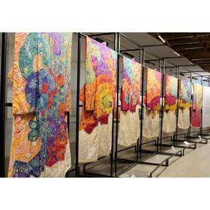 Выставка «Преображение кимоно: искусство Итику Куботы» завершила вояж по странам Азии и Европы