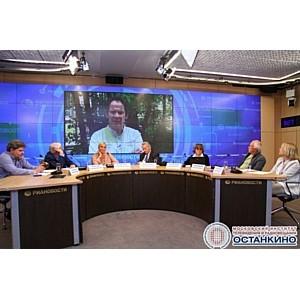 Пресс-конференция «МИТРО: медийные лица в образовании» в РИА «Новости»