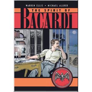 Писатель Уоррен Эллис и художник Майкл Оллред объединились для истории о Bacardi