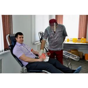 В ПАО «Красноярскэнергосбыт» стартовал краевой донорский марафон «Энергия жизни»