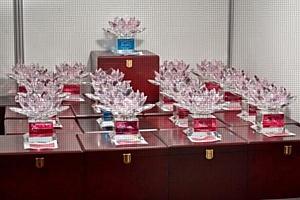 Торжественное награждение участников выставочного проекта «Подарки. Весна 2014»