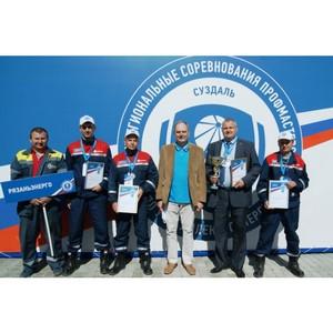 Команда «Рязаньэнерго» заняла 2 место в соревнованиях профмастерства по учету электроэнергии
