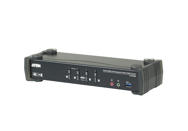 Первые в мире DisplayPort KVMP ATEN со встроенным MST Hub