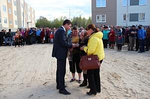 Д. Матвиец: Чална - первое поселение Карелии, где завершилась программа переселения из аварийного жилья